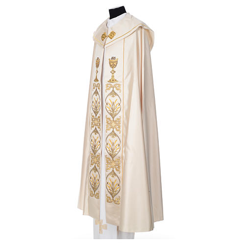 Cope in 100% polyester with chalice in relief 2