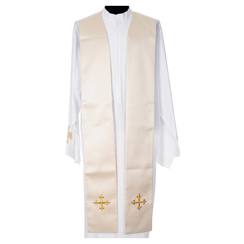 Cope in 100% polyester with chalice in relief 10