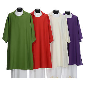 Deacon Dalmatic in polyester, single color s1