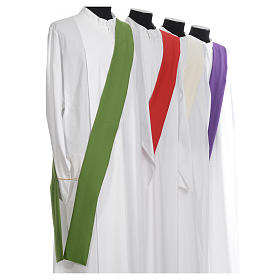 Deacon Dalmatic in polyester, single color s8