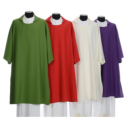 Deacon Dalmatic in polyester, single color 1