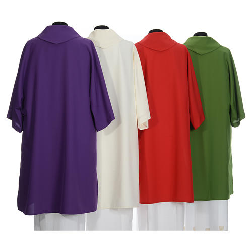Deacon Dalmatic in polyester, single color 2