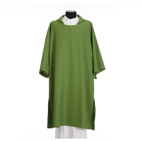 Deacon Dalmatic in polyester, single color 3