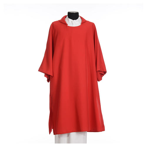 Deacon Dalmatic in polyester, single color 4