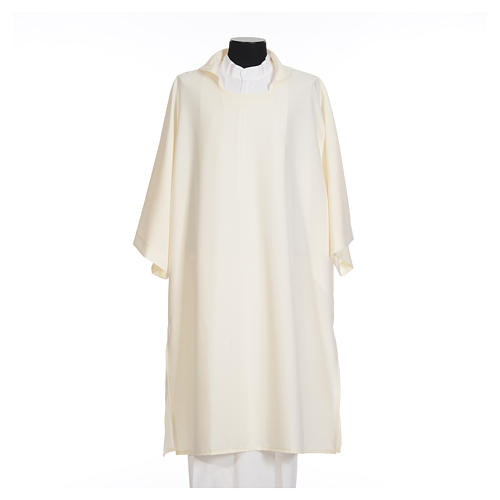 Deacon Dalmatic in polyester, single color 5