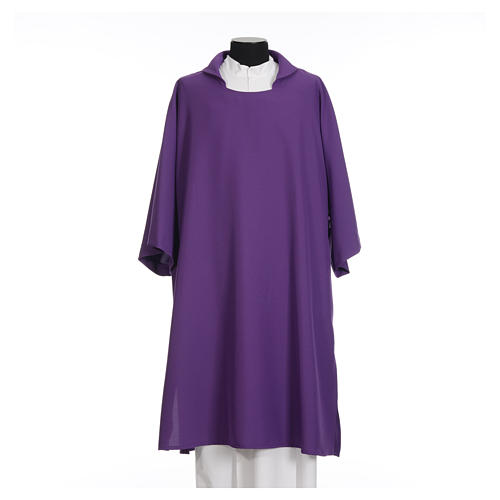 Deacon Dalmatic in polyester, single color 6