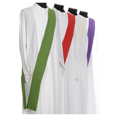 Deacon Dalmatic in polyester, single color 8