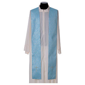 Cope in 80% sky blue polyester with initials of Mary s8