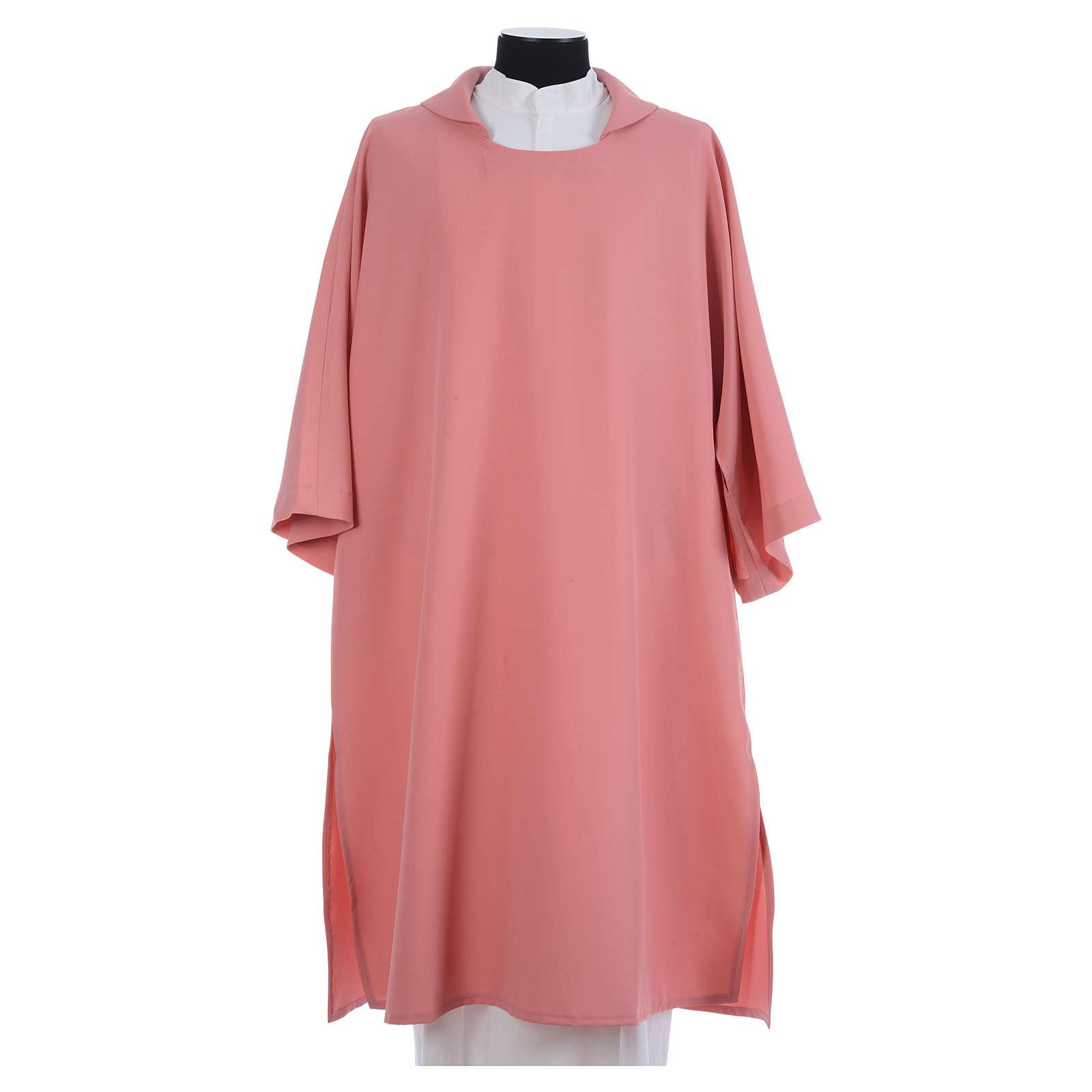 Dalmatica poliestere rosa 4