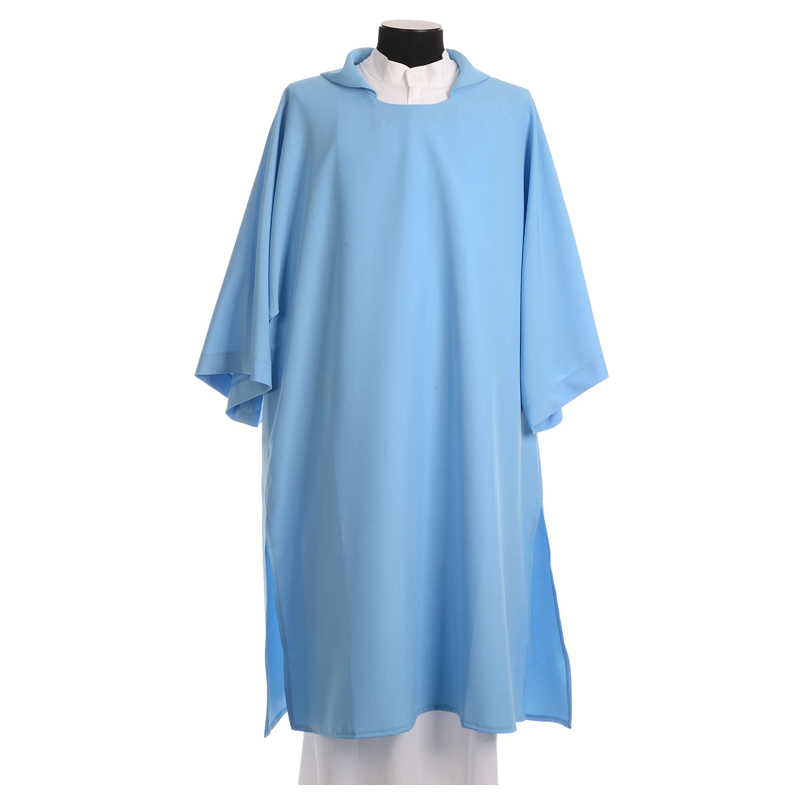 Dalmatic in polyester, light blue 4