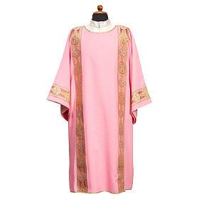 Dalmatyka galon aplikowany z przodu tkanina Vatican 100% poliester s1