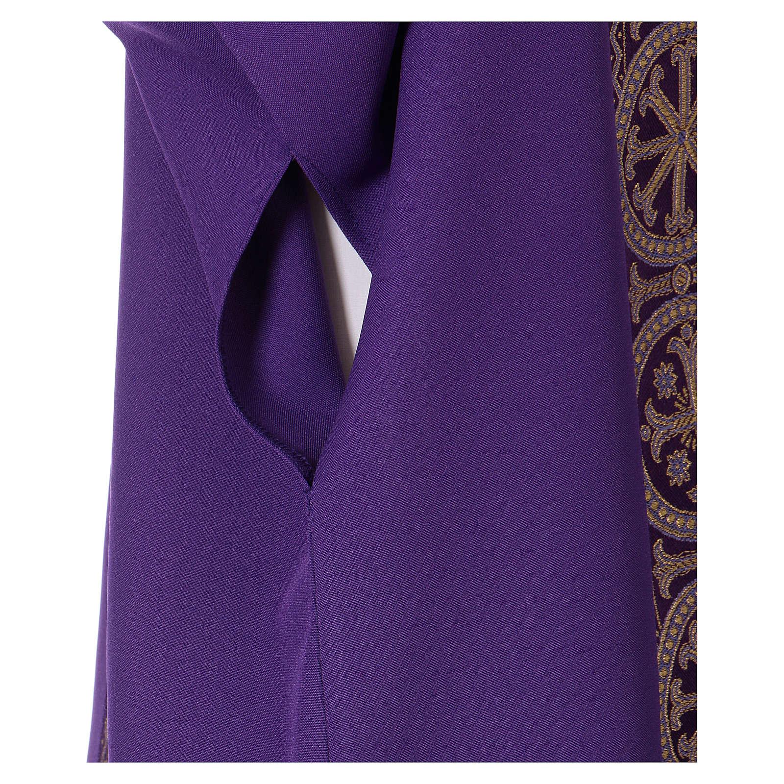 Dalmatik 100% Polyester mit Tressen 4