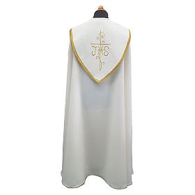 Cope cape with rich embroidery in Vatican fabric s2