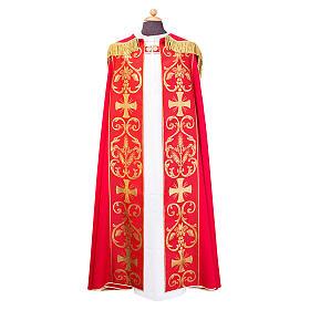 Capa pluvial con estolón aplicado tejido Vatican polièster s1