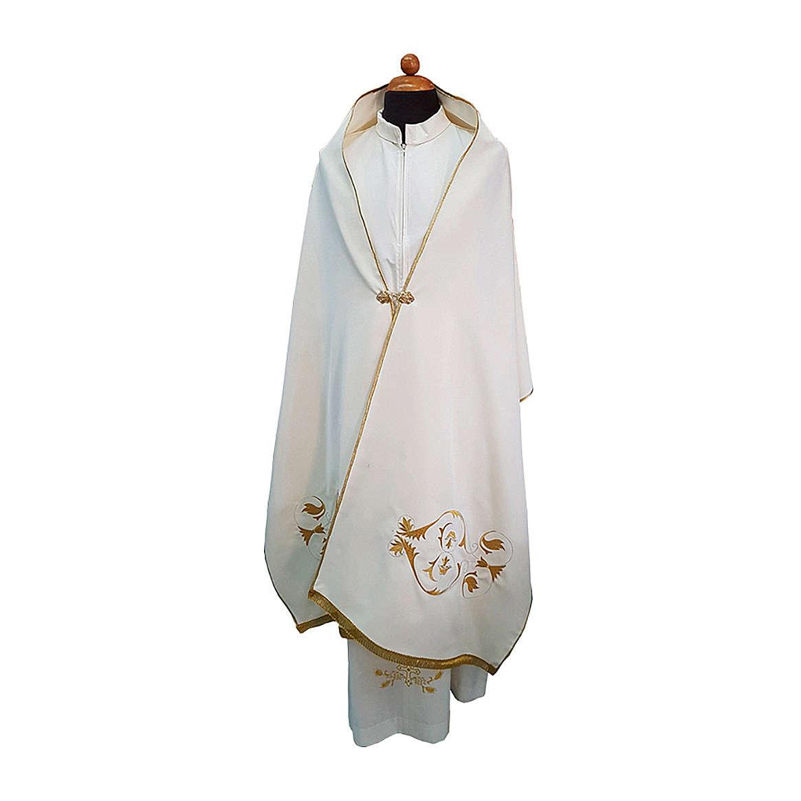 Velo omerale tessuto Vatican poliestere 100% 4