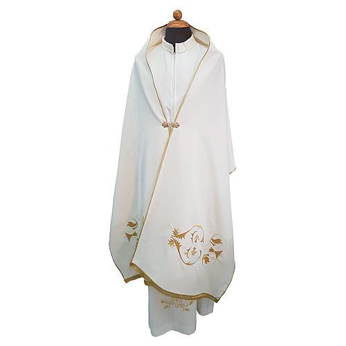 Velo omerale tessuto Vatican poliestere 100% 1