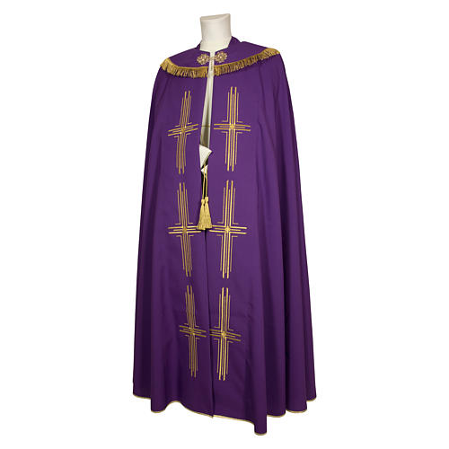 Cope in polyester six crosses 3