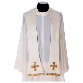 Embroidered roman chasuble s8