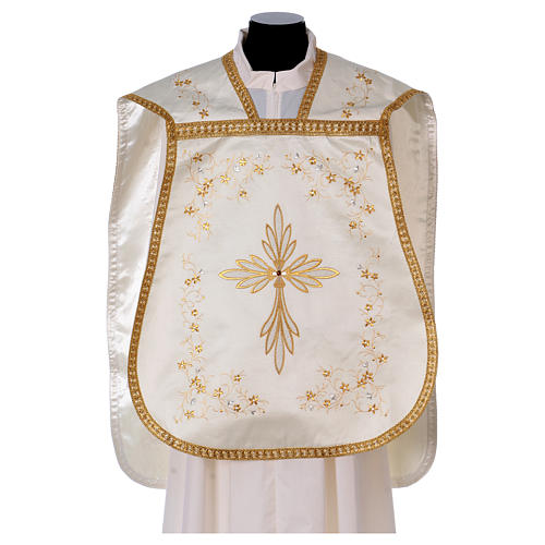 Embroidered Fiddleback Chasuble 1