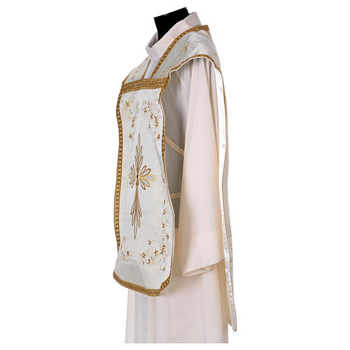 Embroidered Fiddleback Chasuble 3
