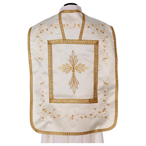 Embroidered Fiddleback Chasuble 5