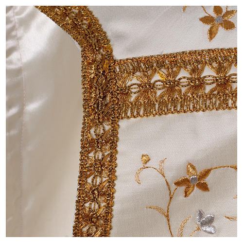 Embroidered Fiddleback Chasuble 6