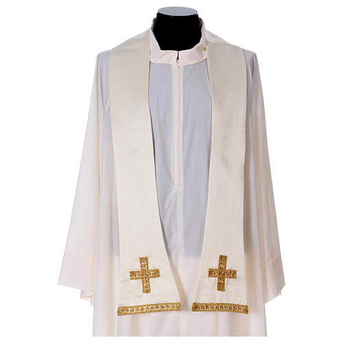 Embroidered Fiddleback Chasuble 8