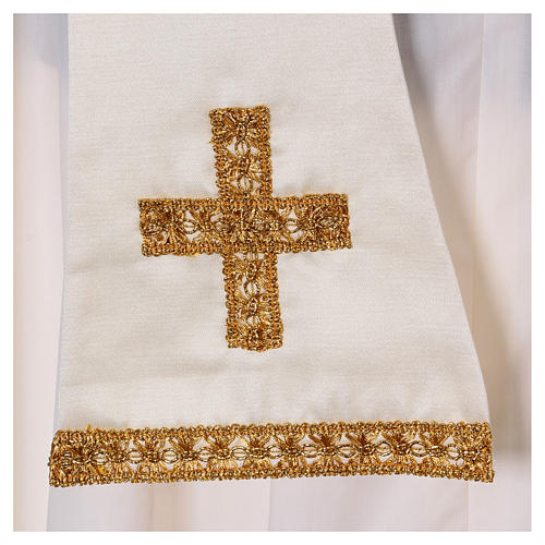 Embroidered Fiddleback Chasuble 9