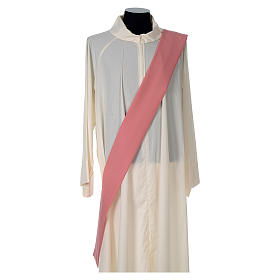Dalmatic 100% polyester with crosses ears of wheat and IHS writing s5