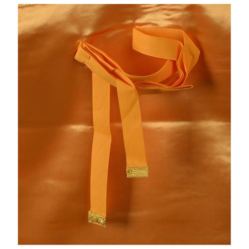 Pianeta broccato oro tessuto fodera raso agremani oro 7