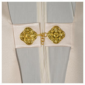 Humeral veil with golden decoration, ivory s6
