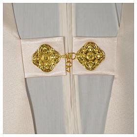 Voile huméral ivoire motifs dorés s6