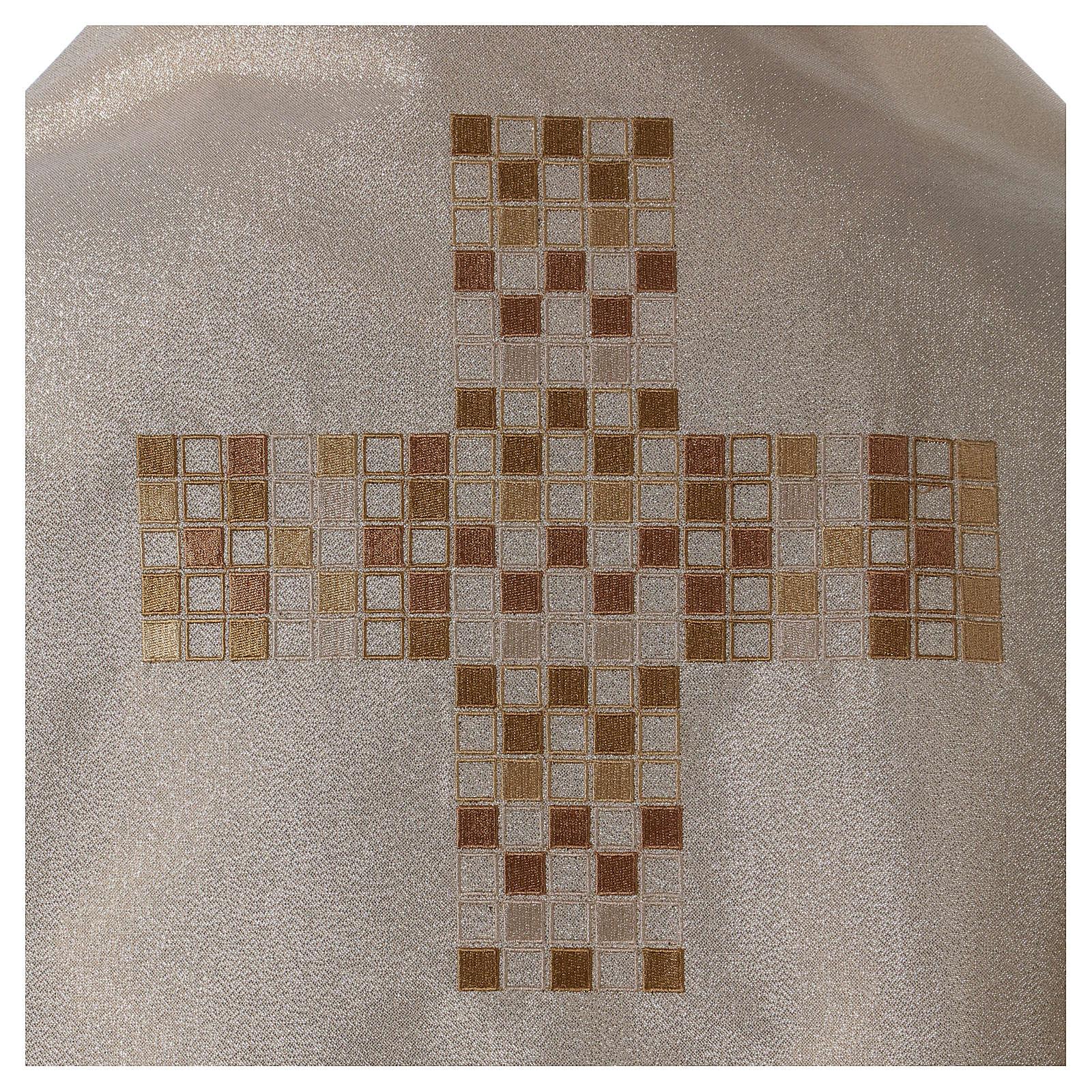 Velo humeral con cruz 50x270 cm 4