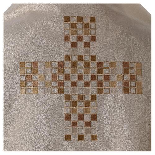 Velo humeral con cruz 50x270 cm 2