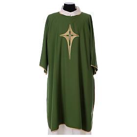 Dalmatique croix et étoile 100% polyester s1
