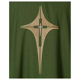 Dalmatique croix et étoile 100% polyester s2