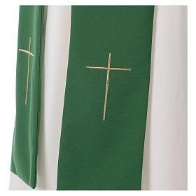 Dalmatique croix et étoile 100% polyester s7