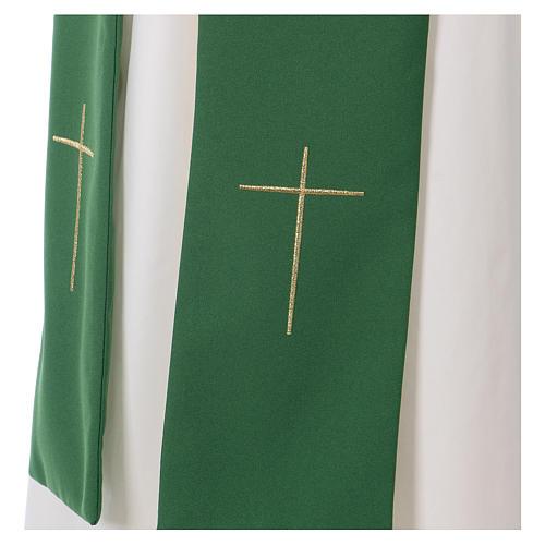 Dalmatique croix et étoile 100% polyester 7