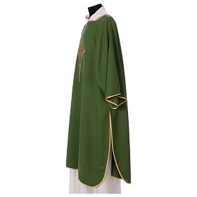 Dalmatic with star cross 100% polyester s3