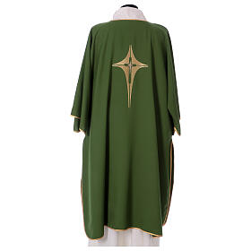 Dalmatic with star cross 100% polyester s4