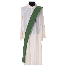 Dalmatic with star cross 100% polyester s5