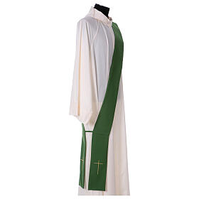 Dalmatic with star cross 100% polyester s6