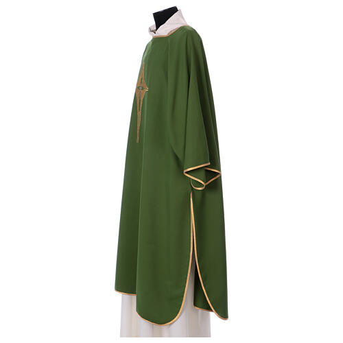 Dalmatic with star cross 100% polyester 3