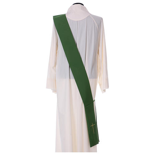 Dalmatic with star cross 100% polyester 8