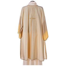 Dalmatica 4 colori con decoro dorato 85% lana 15% lurex s5