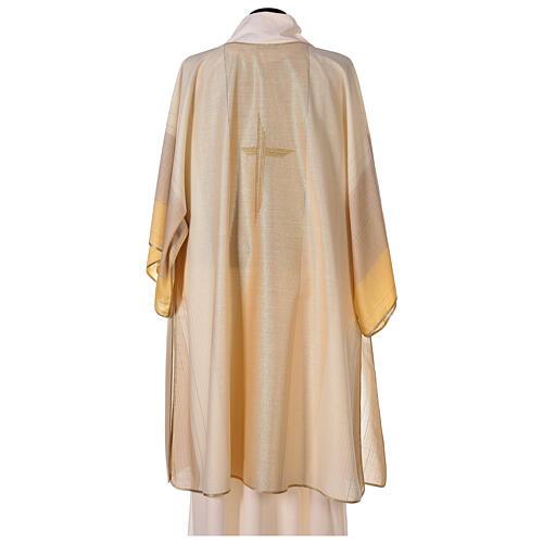 Dalmatica 4 colori con decoro dorato 85% lana 15% lurex 5