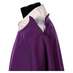 Dalmatic with cross embroidery 100% polyester s7