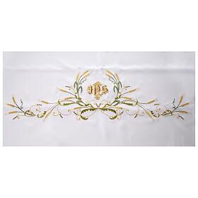 Altar Cloth 165x300cm green & gold Ears of Wheat s4
