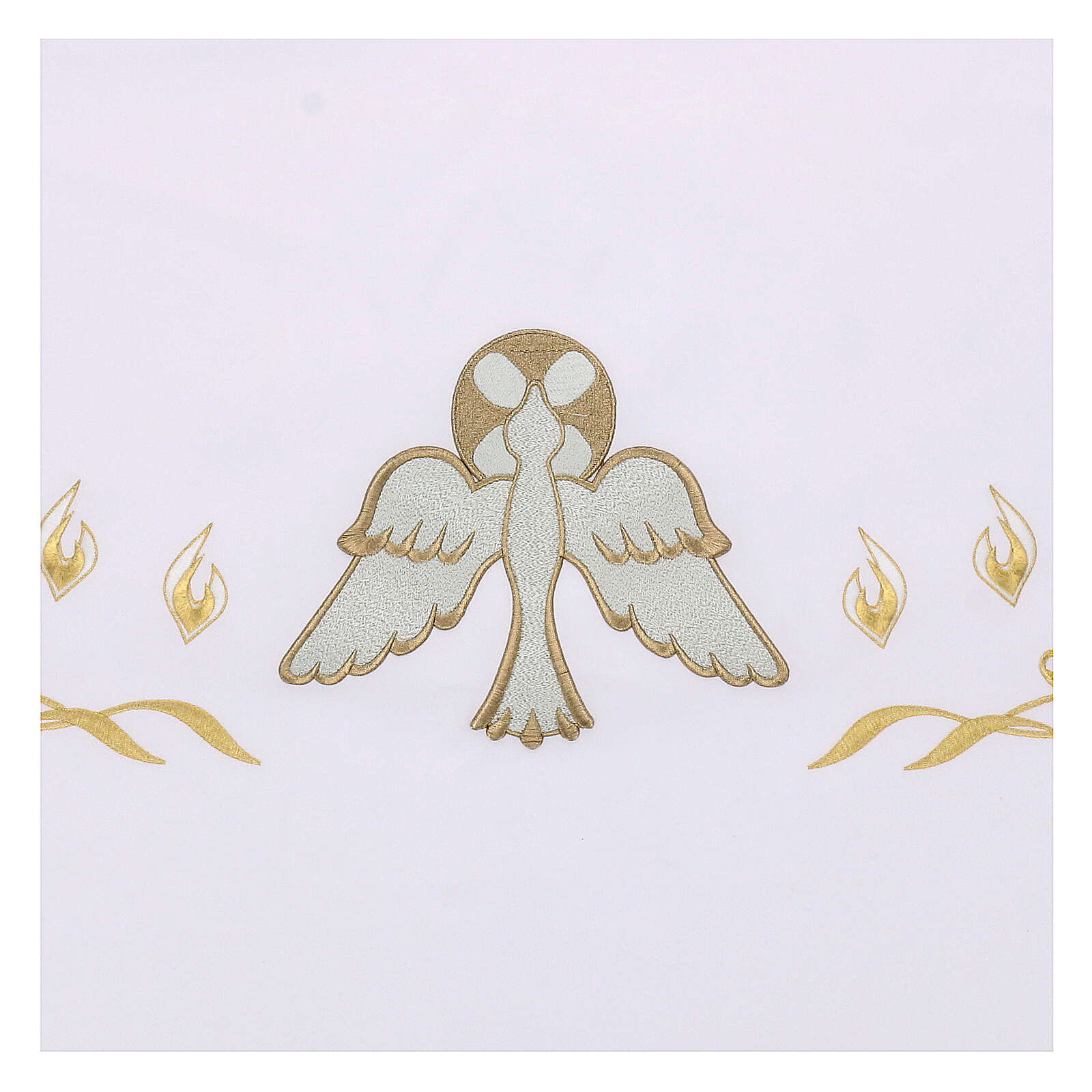 Altar Frontal 165x300cm Flames and Dove 4