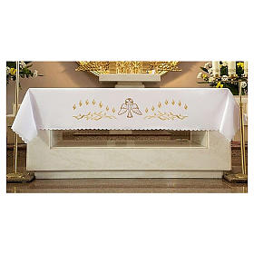 Altar Frontal 165x300cm Flames and Dove s1
